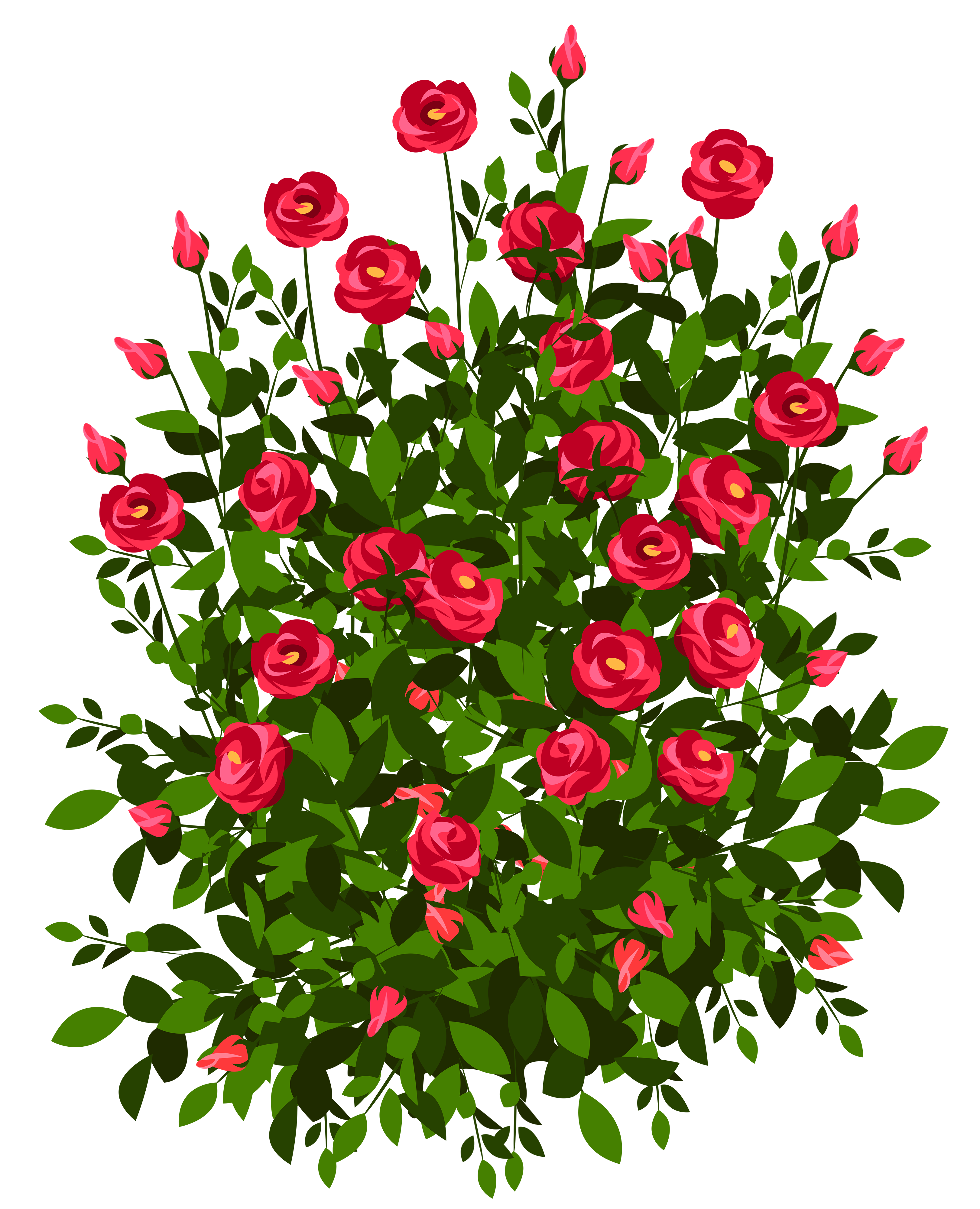 Free Flower Bush Cliparts, Download Free Clip Art, Free Clip.
