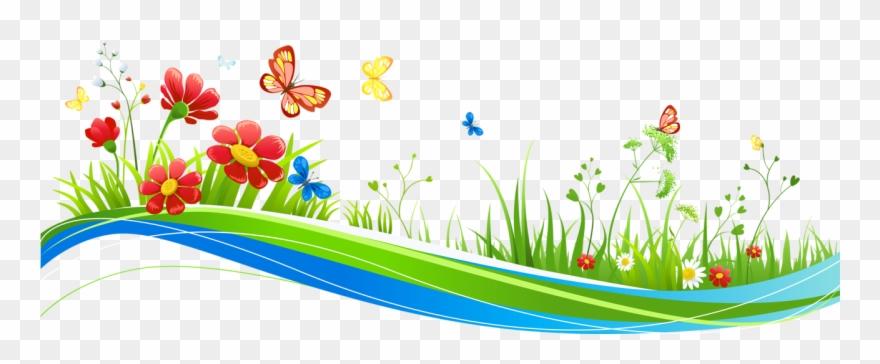 Butterfly Clip Art, Anna, Age 3, Flower Frame, High.
