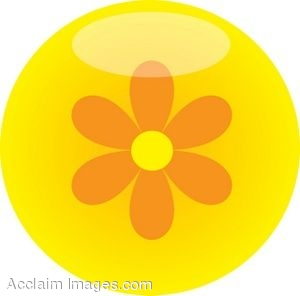 Flower buttons clipart - Clipground