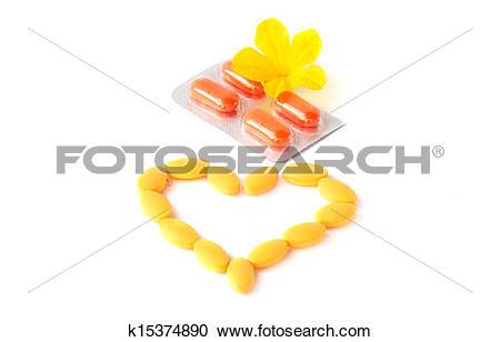 Flower capsules clipart #18