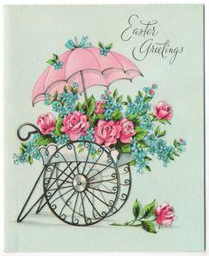 Old flower cart.