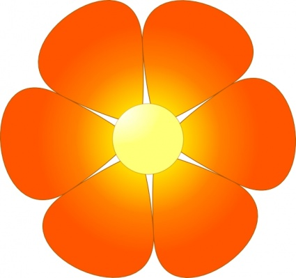 Cartoon Flower Vector.