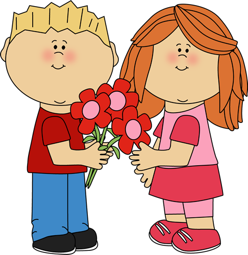 Clipart child flower girl.