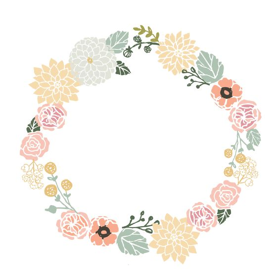 Floral Wreath.
