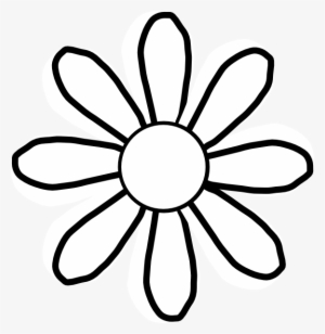 Black And White Flower Png PNG Images.