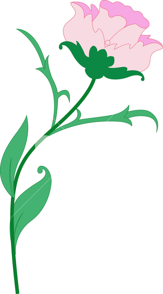 Nature Flower Clipart Design Royalty.