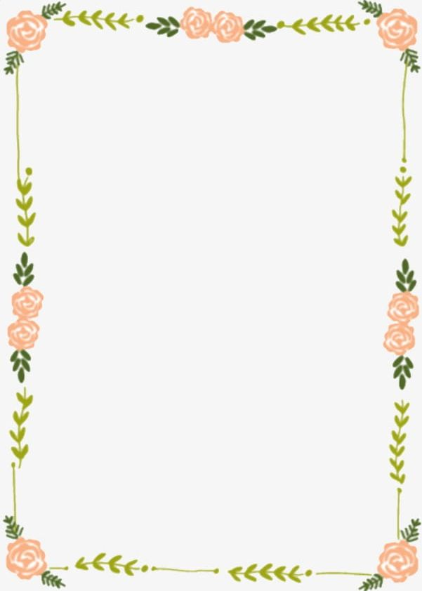 Flowers Frame PNG, Clipart, Flower, Flowers, Flowers Clipart.