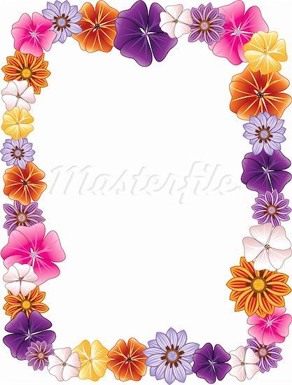 Flower Border Clipart Free.