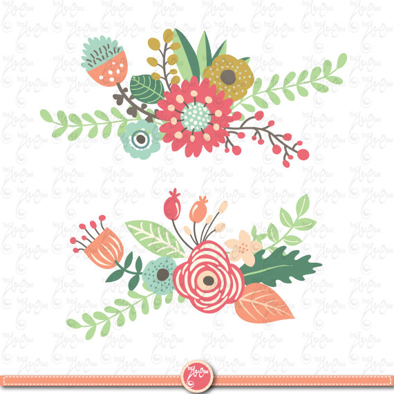 Flowers Clipart pack \