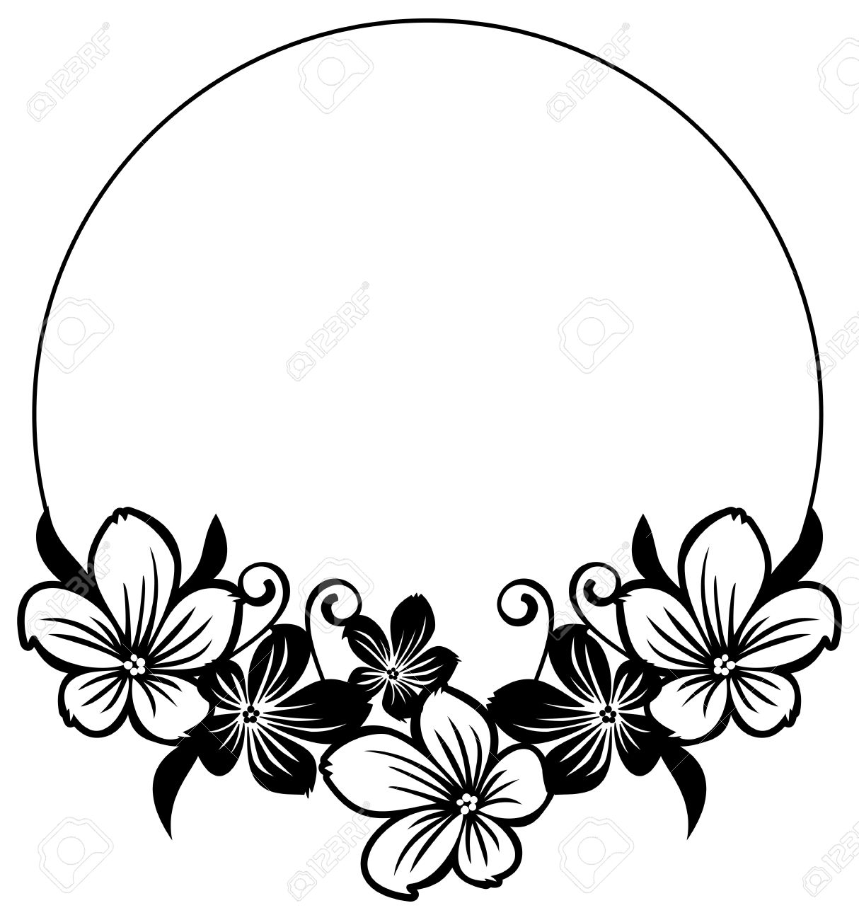 Flower silhouette clipart 3 » Clipart Station.