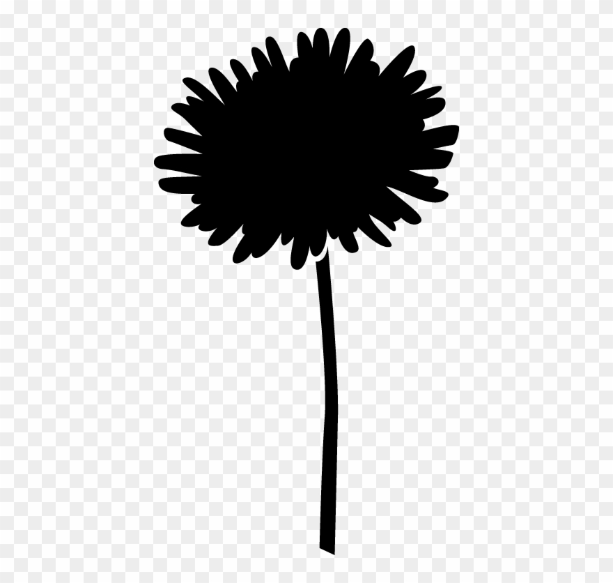 Simple Flower Silhouettes Life.
