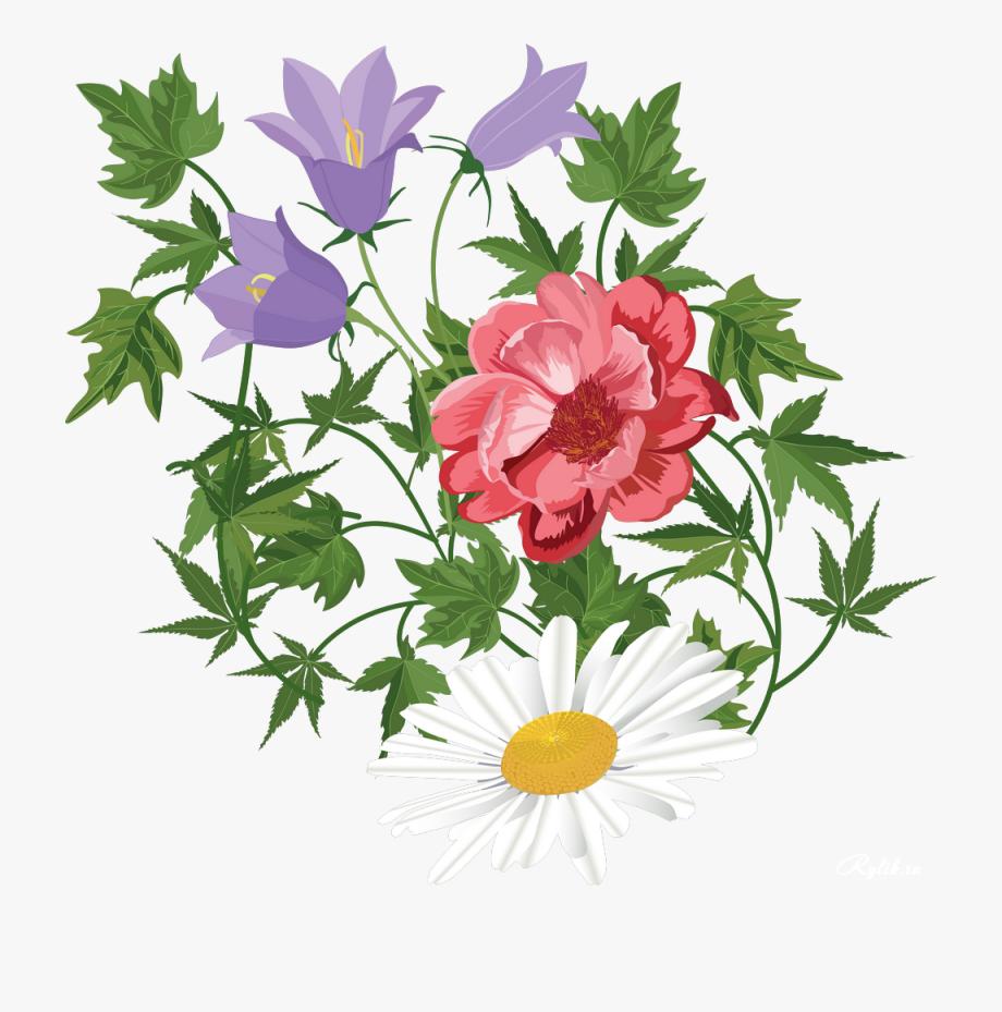 Flower Floral Design Clip Art Transprent.