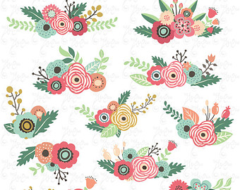 Flowers Clipart pack