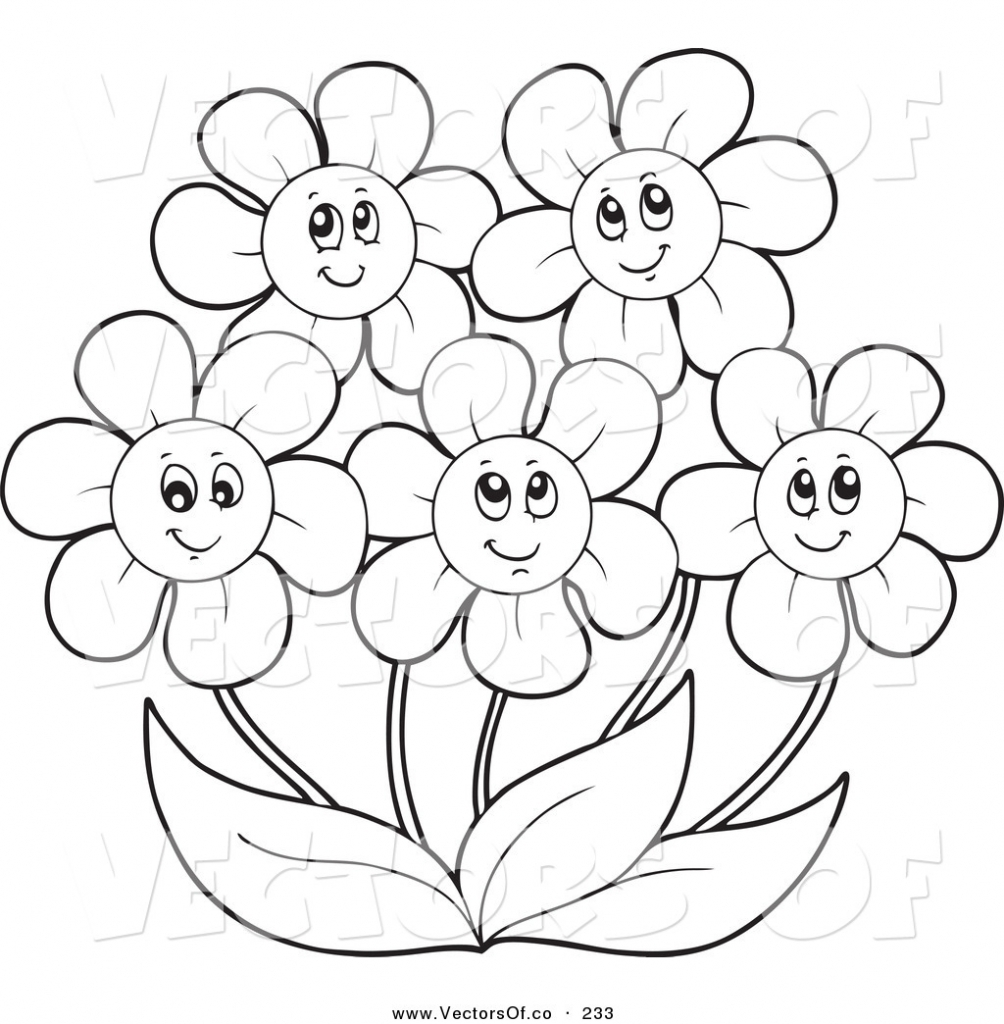 Unique Printable Flower Coloring Pages Collection Printable.