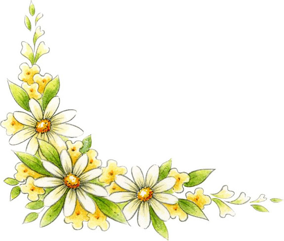 Free Flower Corner Cliparts, Download Free Clip Art, Free Clip Art.