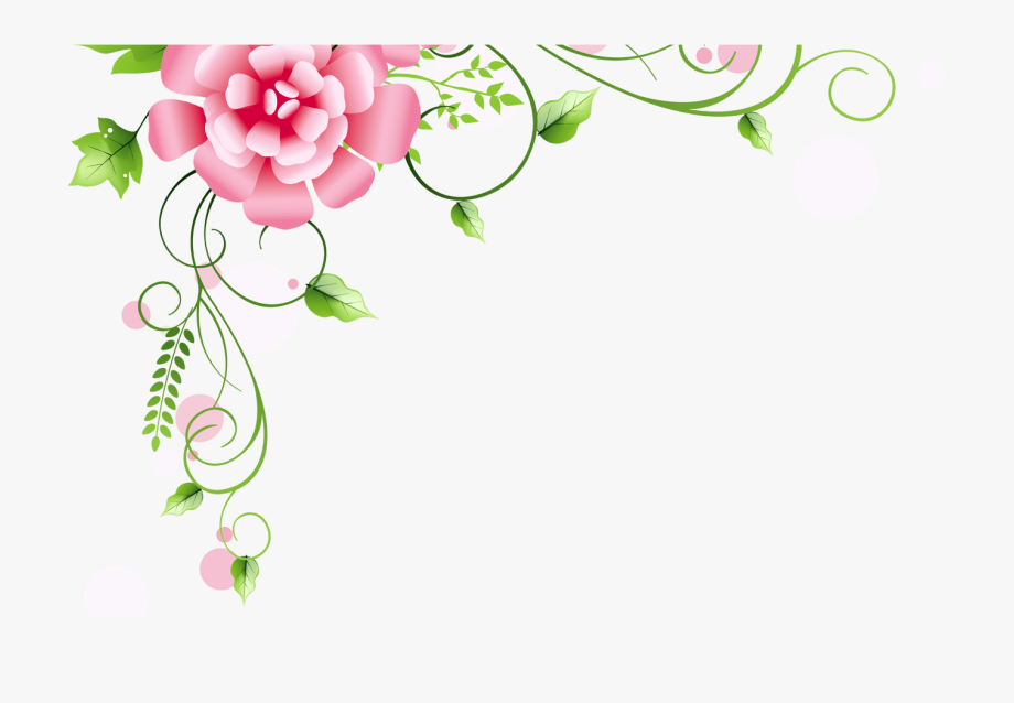 Corner Floral Decoration Png Clipart Picture Gallery.