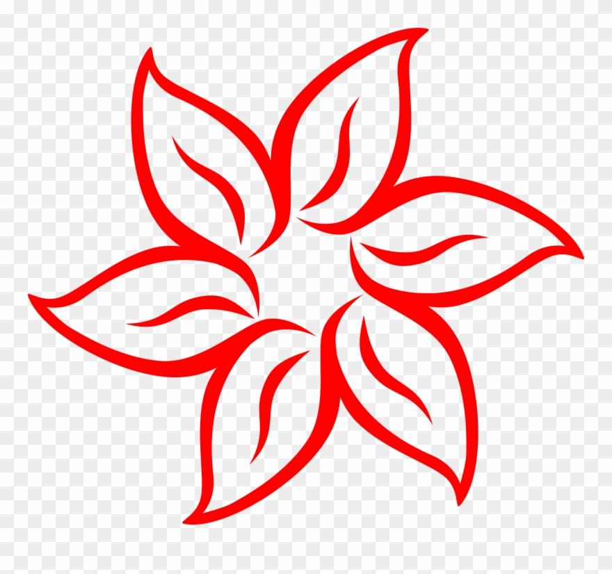 Svg Royalty Free Flower Clip Art At Clker Com Vector.