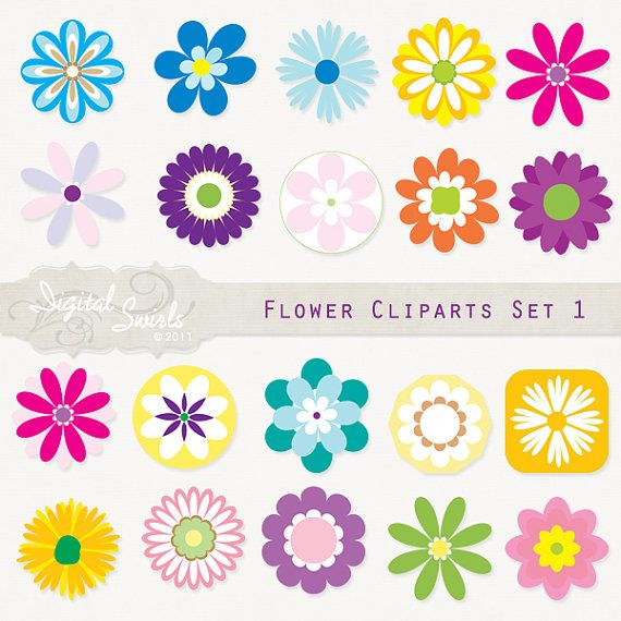 25+ best ideas about Flower Clipart on Pinterest.