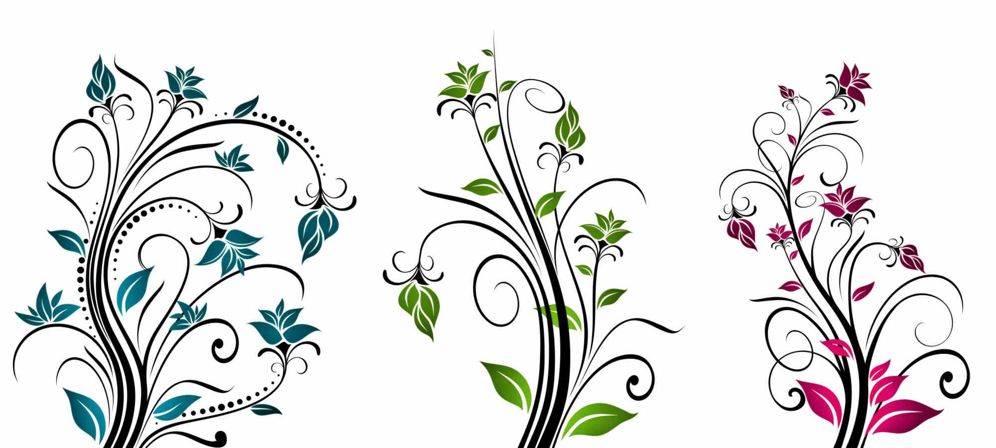 Graphic Design Art Flower Hd.
