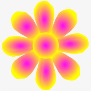 Flower Yellow Clip Art.
