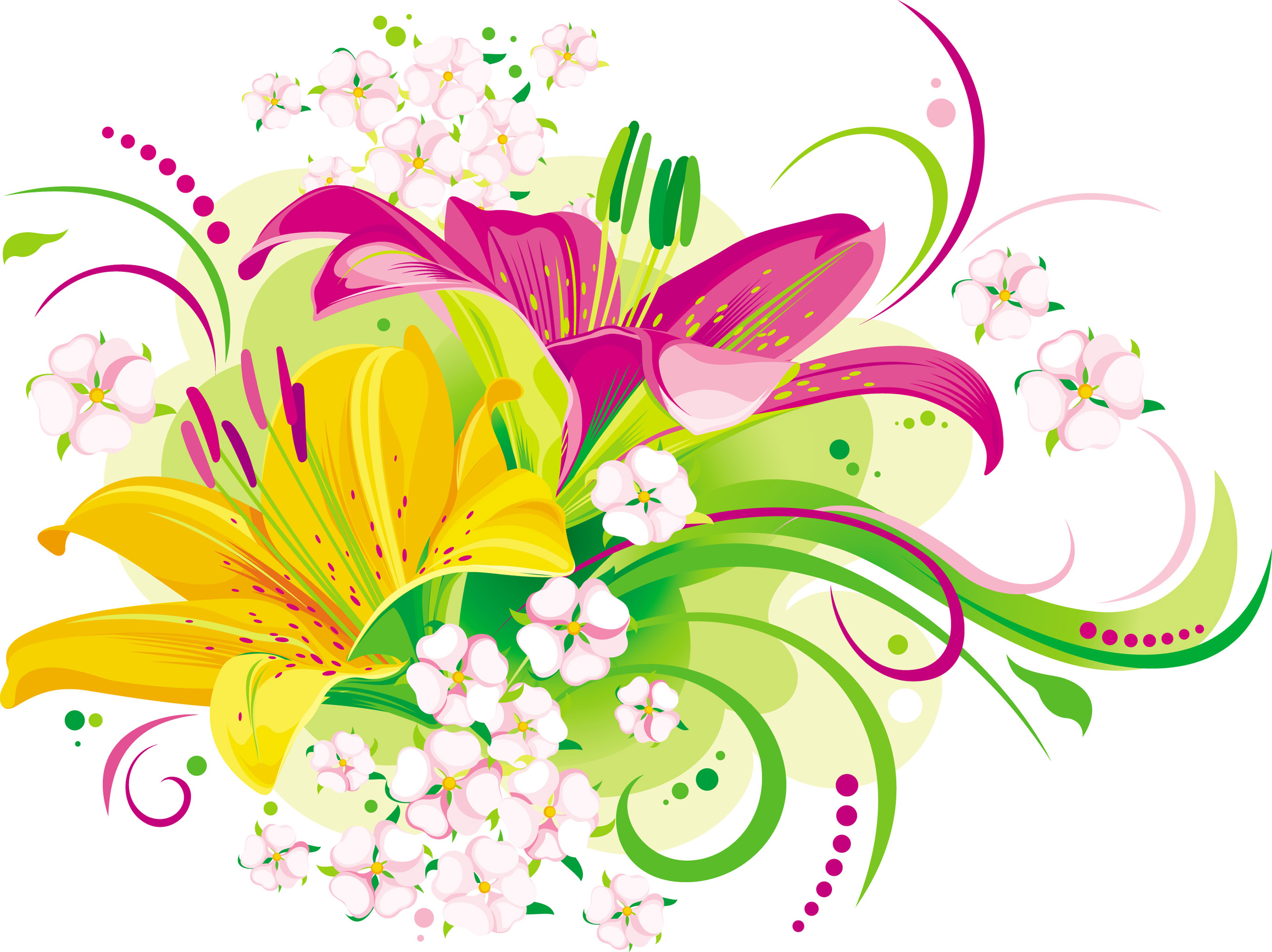 Flowers Vectors PNG Transparent Flowers Vectors.PNG Images..