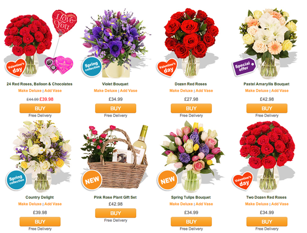 Arena Flowers Discount Coupon.