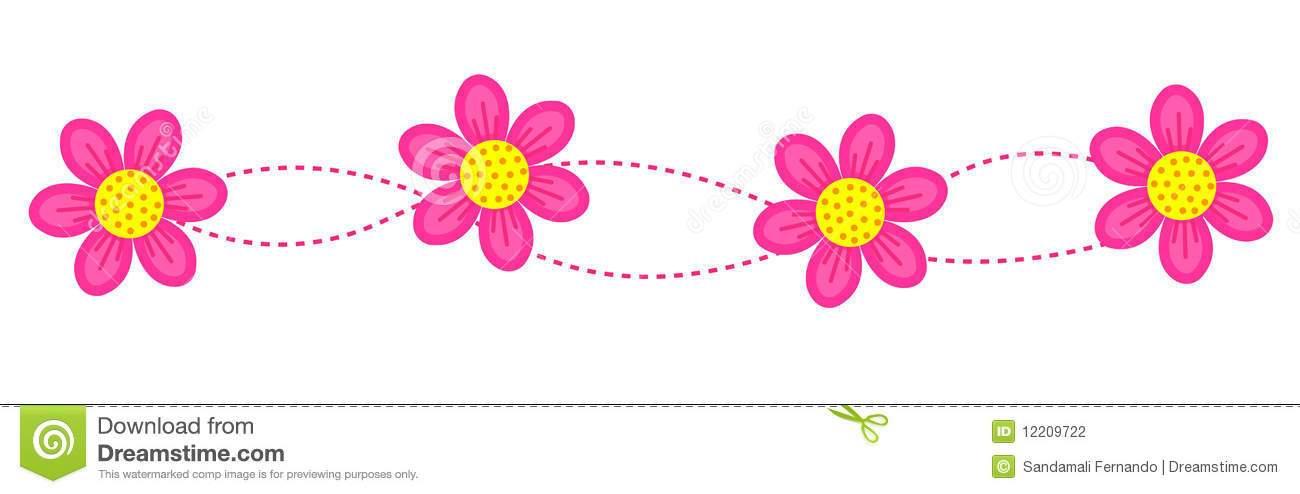 Flower divider clipart 1 » Clipart Portal.
