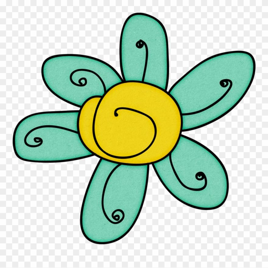 Doodle Flower Flower Doodles, Flower Art, Clip Art,.