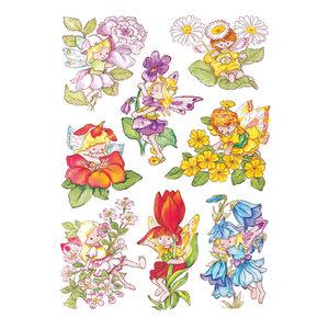 Sticker DECOR flower elves.