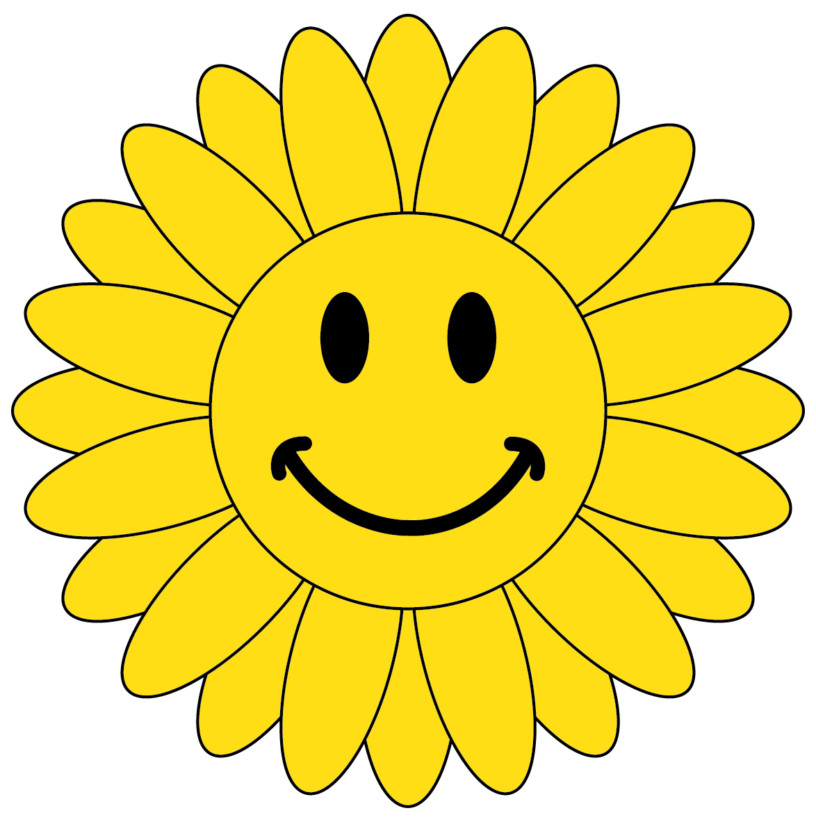 Free Smiley Flower Cliparts, Download Free Clip Art, Free.