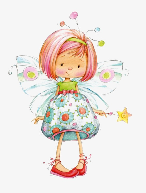 Fairy, Little Fairy, Genius, Flower Fairy PNG Transparent Image and.