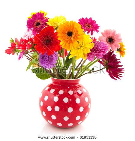 Flower Vase Stock Images, Royalty.