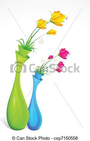 Vector of Flower Vase.