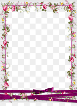 Pink Flower Frame PNG and Pink Flower Frame Transparent.