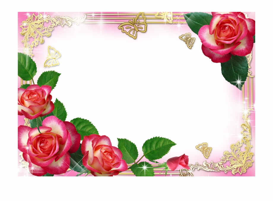 Hd Flower Photo Frame, HD Png Download (4965460 ).