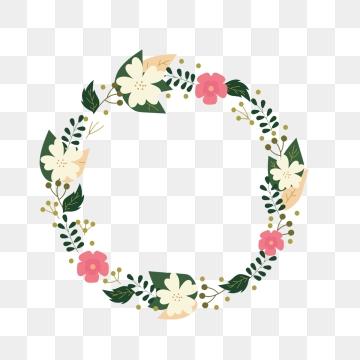 Flower Frame PNG Images.