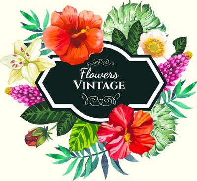 Flower frame vector free vector download (16,128 Free vector) for.