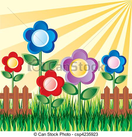 Garden flowers Clipart and Stock Illustrations. 120,919 Garden.