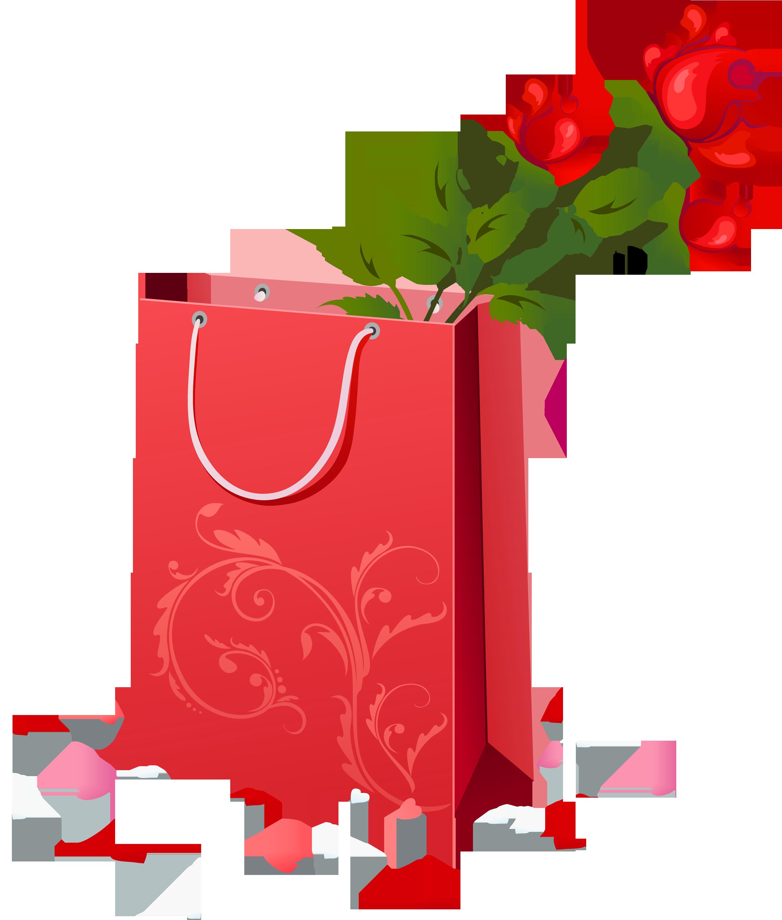 Flower clipart gift, Flower gift Transparent FREE for.