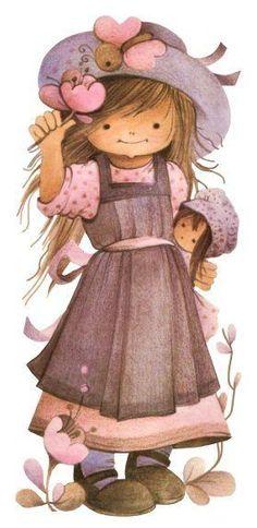 〆(⸅᷇˾ͨ⸅᷆ ˡ᷅ͮ˒). Flower girl.