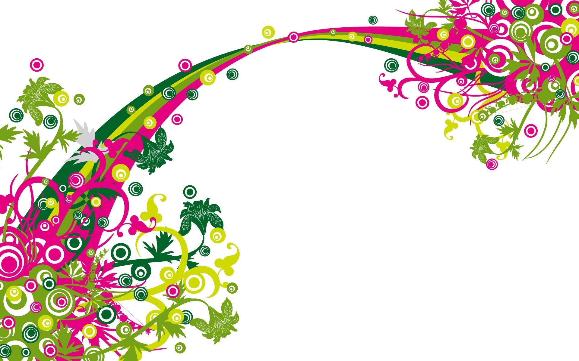 Vector Flower Graphics.