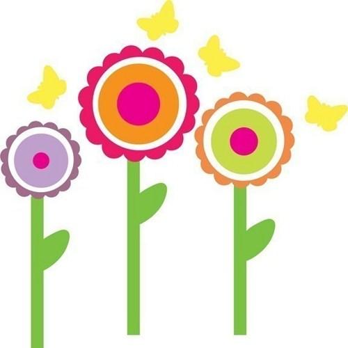 Spring Flower Graphics.