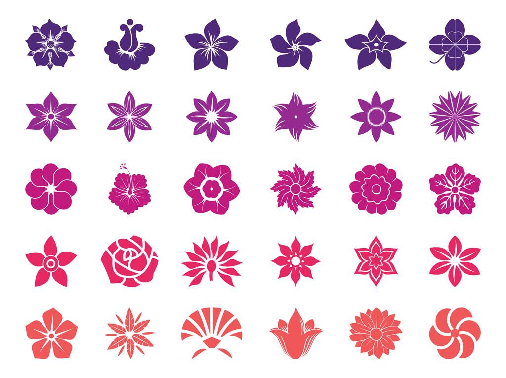 Flower Blossoms Graphics Vector Art & Graphics.