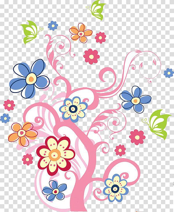 flower graphic clipart #5