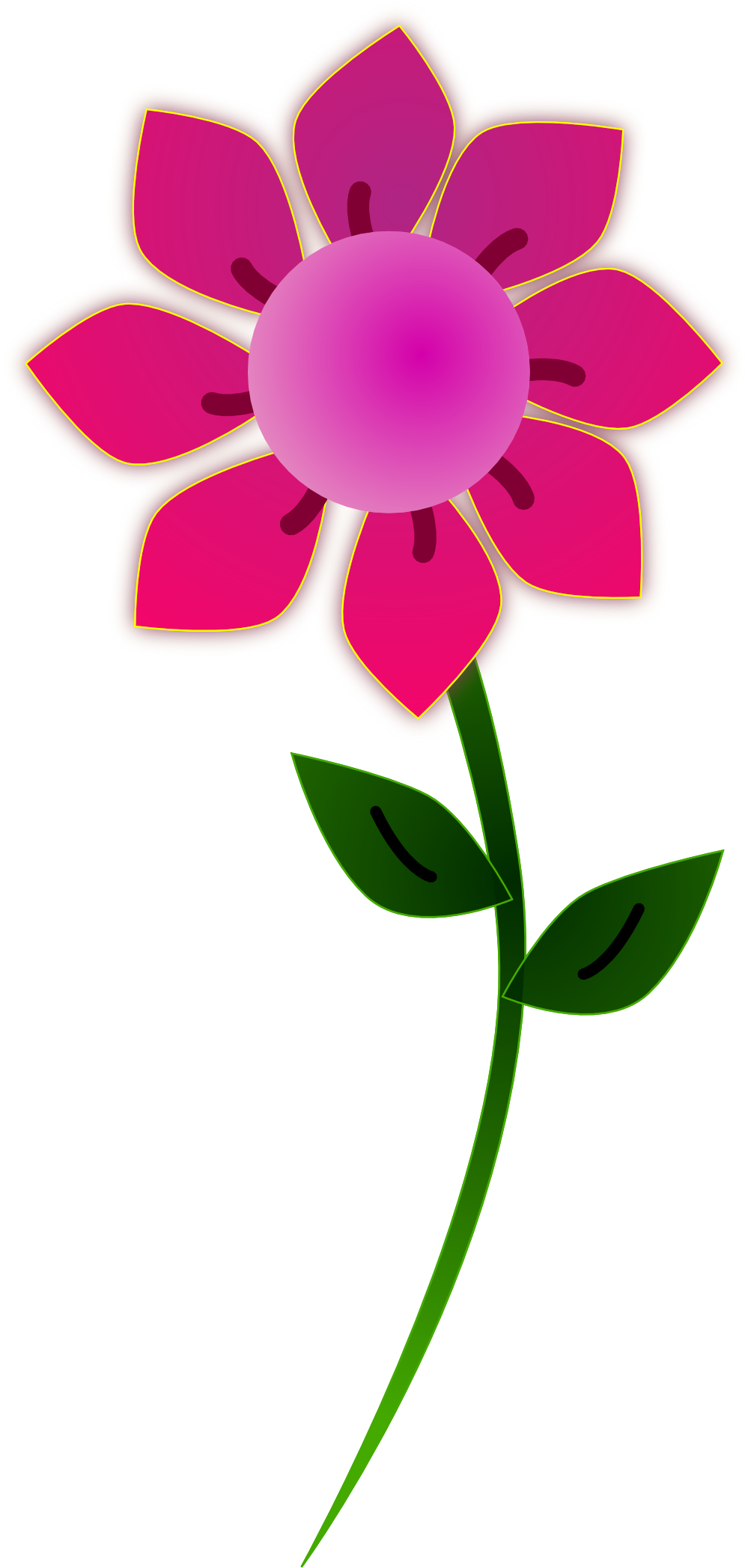 Free flower clip art graphics of flowers for layouts image 6.