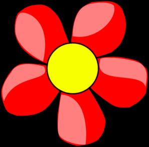 Flower Red Clip Art at Clker.com.