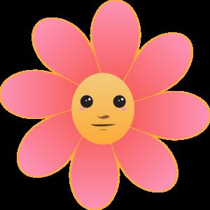 Cute flower cliparts.