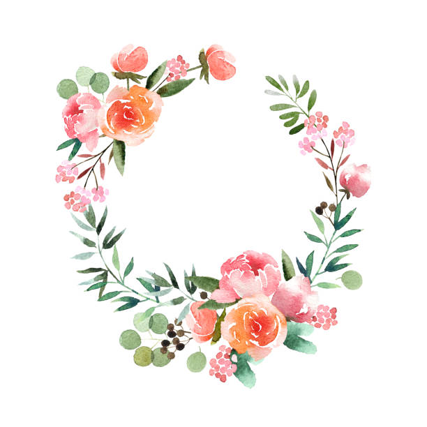 Best Flower Crown Illustrations, Royalty.