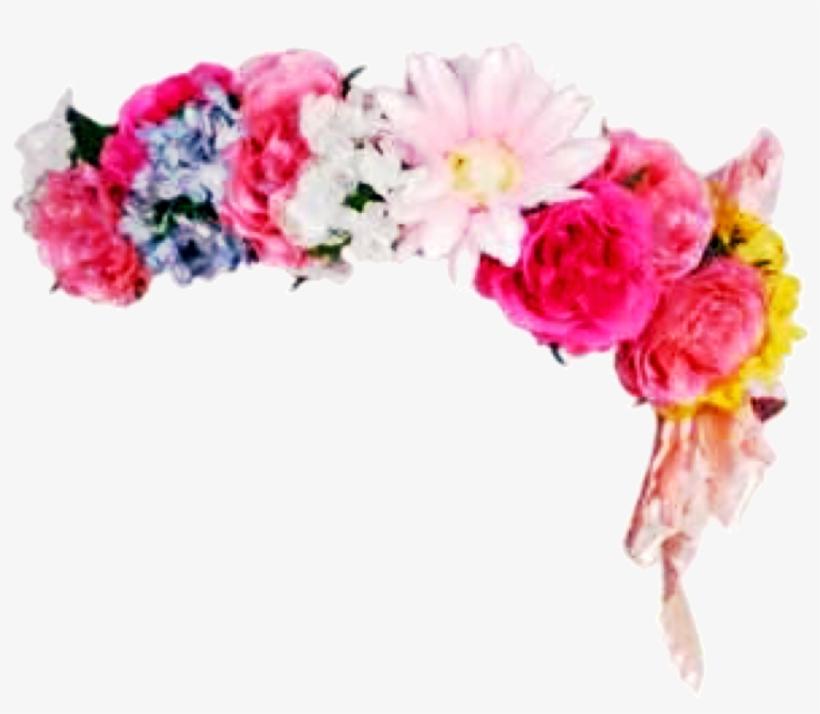 Headband Flowerband Floral Flowers Flowercrown Sticker.