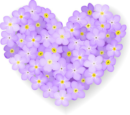 Flower heart clip art free vector download (213,058 Free vector.